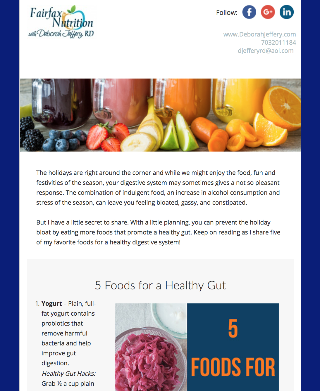 Ready Newsletter Customized Nutrition Newsletters