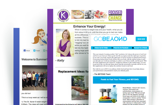 Nutrition Newsletters Sample