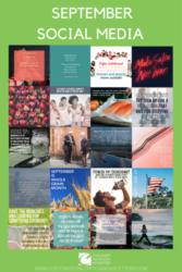 September Health and Wellness Social Media Web Graphic