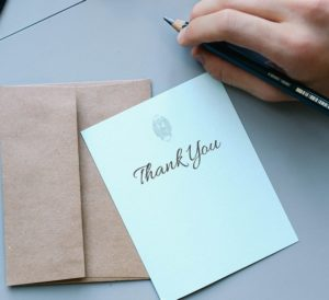 Gratitude to Wellness Experts
