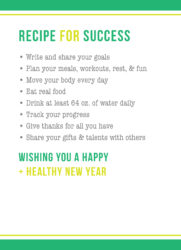 Food_Recipe for Success_Blank