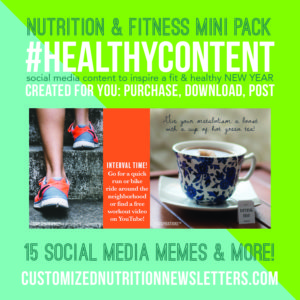 Nutrition and Fitness Healthy Content