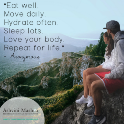 eat well move daily