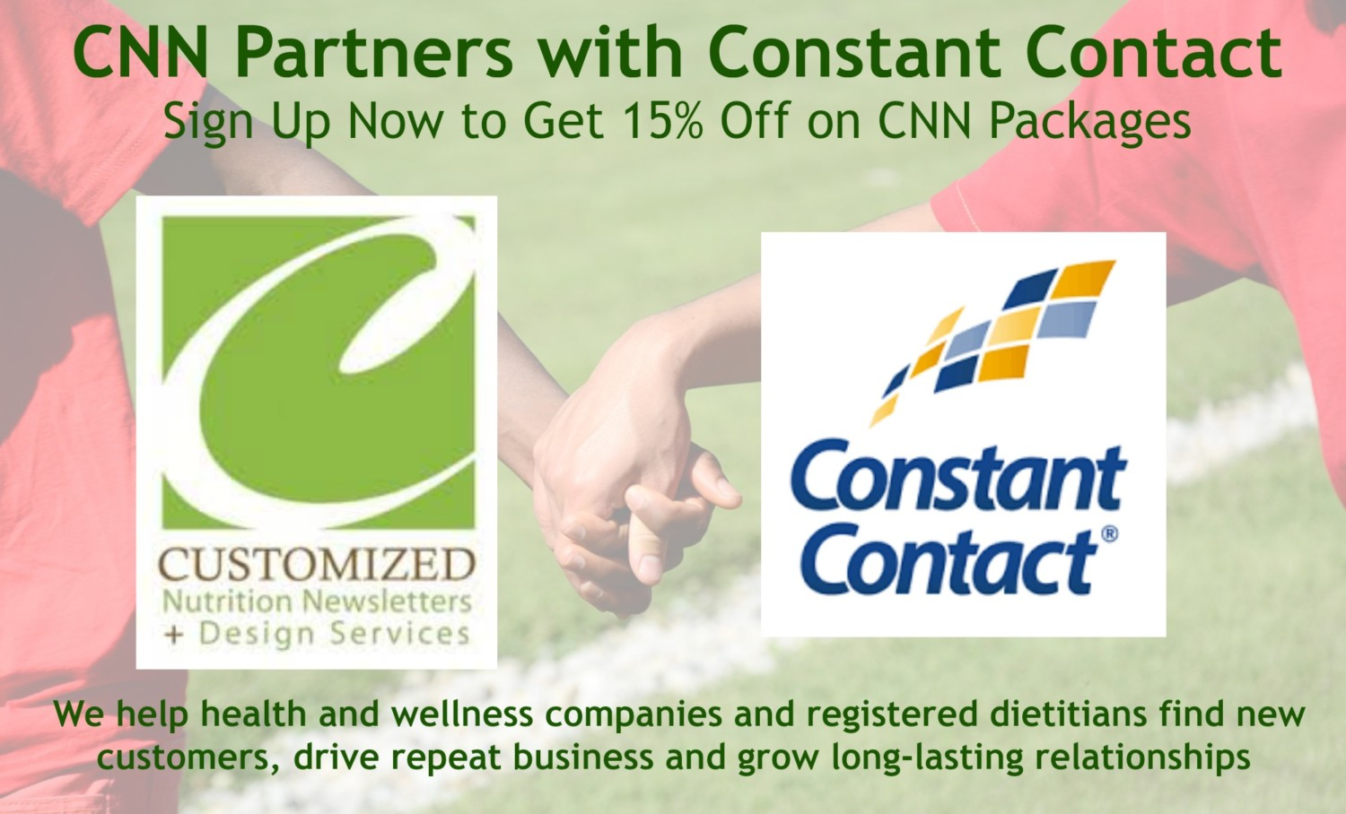 CNN partners Constant Contact - create nutrition newsletters